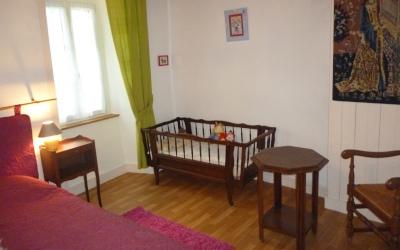 Chez Gwen - ... avec le lit bébé